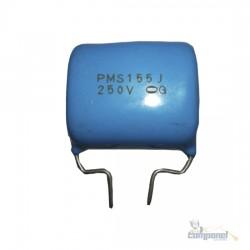 Capacitor Poliester 1m5 / 155j 250v